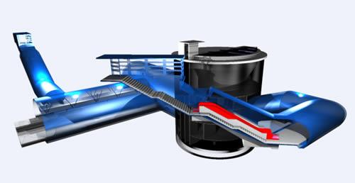 imagen Modelado estacion simon bolivar; linea 4; santiago; chile, en Medios de transporte - Proyectos