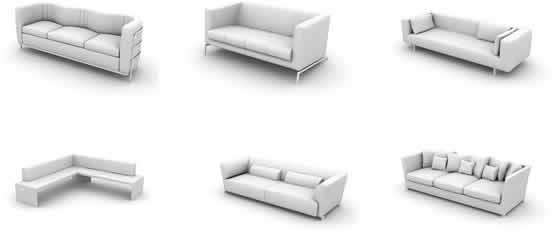 imagen Modelos de sillas 3d, en Sillones 3d - Muebles equipamiento