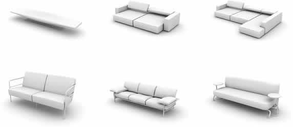 imagen Modelos de sillones 3d, en Sillones 3d - Muebles equipamiento
