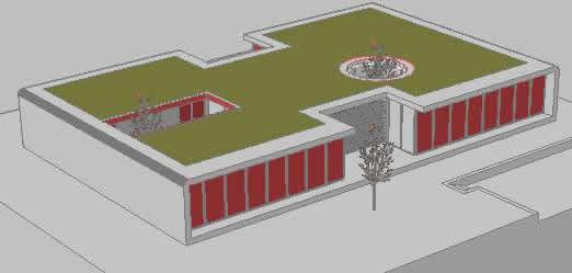 imagen Modern house 3d, en Vivienda unifamiliar 3d - Proyectos