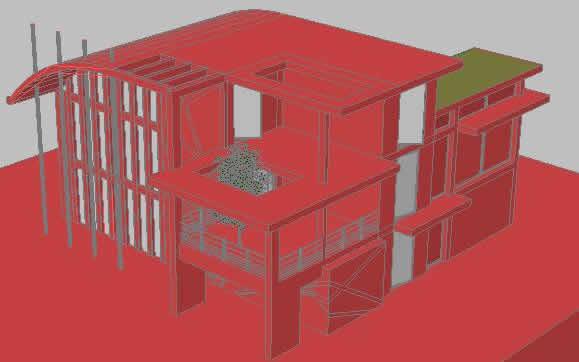 imagen Modern house, en Vivienda unifamiliar 3d - Proyectos