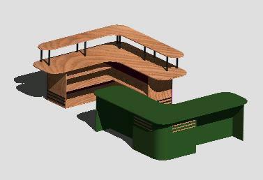 imagen Modulo de oficina, en Escritorios - Muebles equipamiento