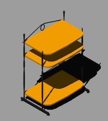 imagen Modulo de tv 3d, en Salas de estar y tv - Muebles equipamiento