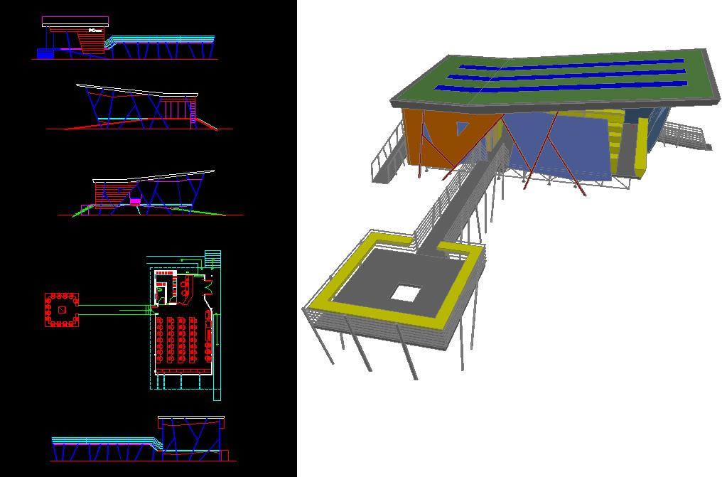 imagen Modulo para centro de computo, en Oficinas bancos y administración - Proyectos