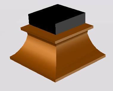 imagen Molduras: escocia prolongada, en Molduras de madera - Detalles constructivos