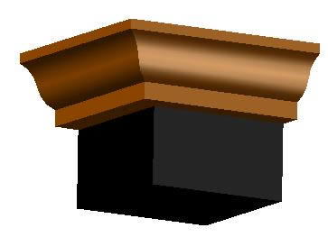 imagen Molduras: gola, en Molduras de madera - Detalles constructivos