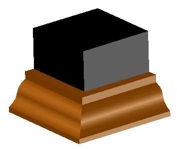 imagen Molduras: gola invertida, en Molduras de madera - Detalles constructivos