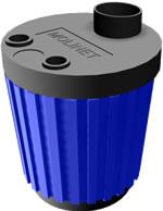 imagen Molinillo 3d con materiales aplicados, en Oficinas y laboratorios - Muebles equipamiento