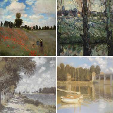 imagen Monet, en Cuadros - Texturas