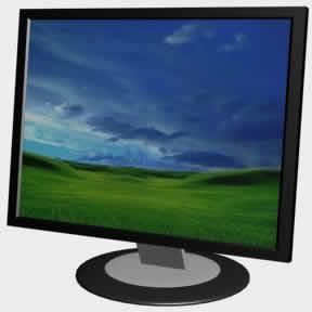 imagen Monitor 3d, en Informática - Muebles equipamiento