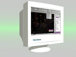 imagen Monitor, en Informática - Muebles equipamiento