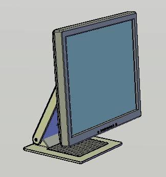 imagen Monitor lcd, en Informática - Muebles equipamiento