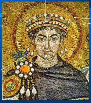 imagen Mosaico y pintura bizantina, en Monografías - Historia