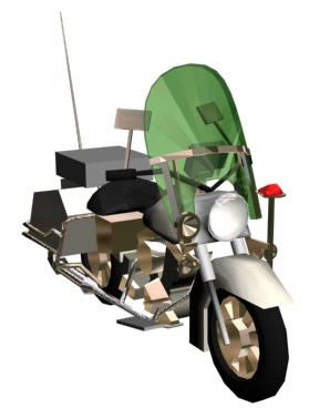 imagen Motocicleta motocicleta 3d, en Motos y bicicletas - Medios de transporte