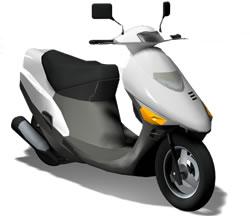 imagen Motoneta 3d, en Motos y bicicletas - Medios de transporte