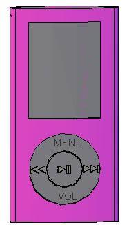 imagen Mp4, en Componentes 3d - Electrónica