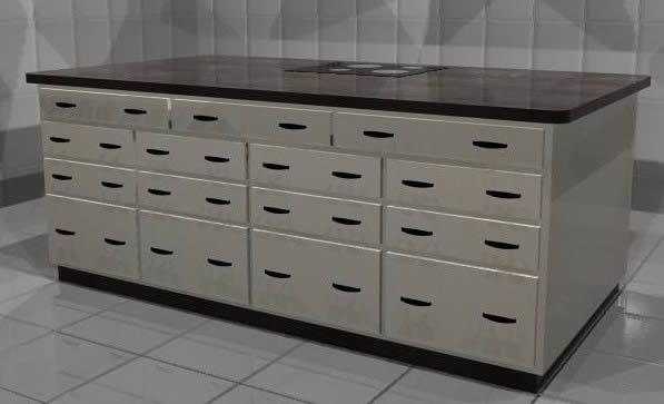 Planos sanitarios archives p gina 101 de 138 planos de for Muebles de cocina tipo isla