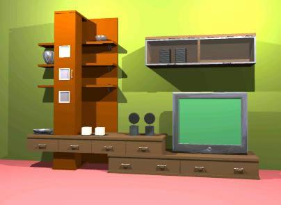 Planos de mueble de comedor en estanter as y modulares for Muebles comedor modulares