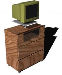 Planos de mueble estante en estanter as y modulares for Muebles estanterias modulares