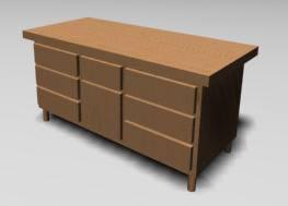imagen Mueble guardarropa 3d, en Dormitorios - Muebles equipamiento