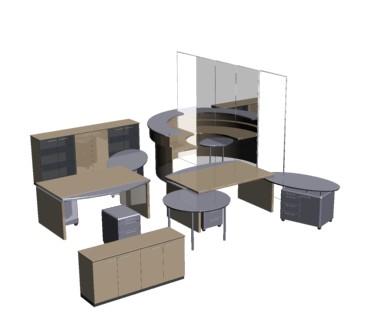 Planos de casas planos de construccion for Muebles de oficina 3d model
