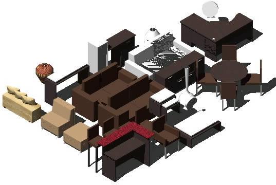 Muebles varios archives p gina 4 de 10 planos de casas for Muebles de oficina 3d autocad