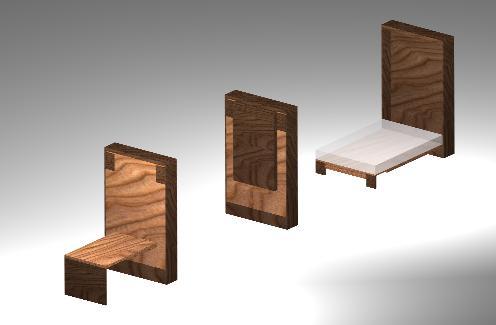 imagen Muebles para dormitorios, en Dormitorios - Muebles equipamiento