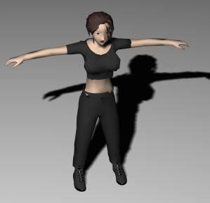 imagen Mujer 3d, en 3d - Personas