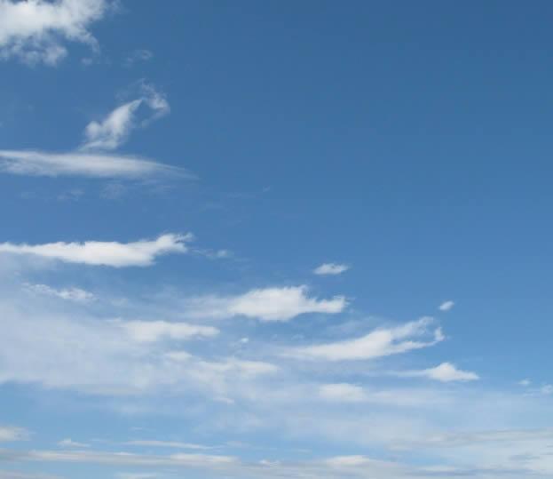 imagen Natural cielo azul, en Cielos - Objetos paisajísticos
