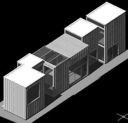 imagen Nishizawa casa a 3d, en Vivienda unifamiliar 3d - Proyectos