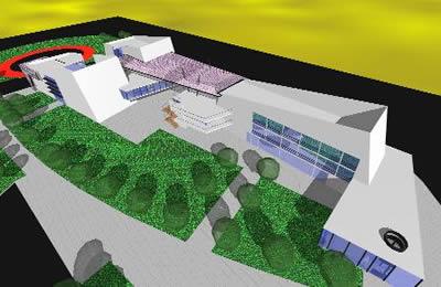 imagen Nucleo de servicios y rescate de carretera, en Estaciones de servicio - Proyectos