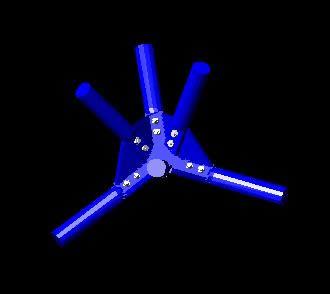 imagen Nudo, en Cúpulas geodésicas - Proyectos