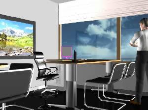 imagen Oficina completa en 3d, en Oficinas y laboratorios - Muebles equipamiento