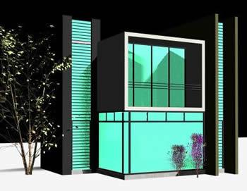 imagen Oficina para vender autos 3d, en Proyectos varios - Proyectos