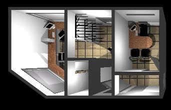 Planos de oficinas 3d en oficinas bancos y administraci n for Planos de oficinas administrativas