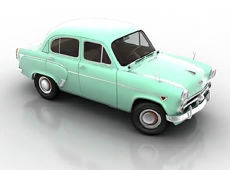 imagen Old movil 3d max, en Automóviles en 3d - Medios de transporte