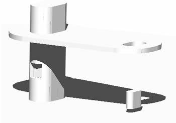 imagen Parador de bus 3d, en Transferencia peatón - vehículo paradores - Equipamiento urbano