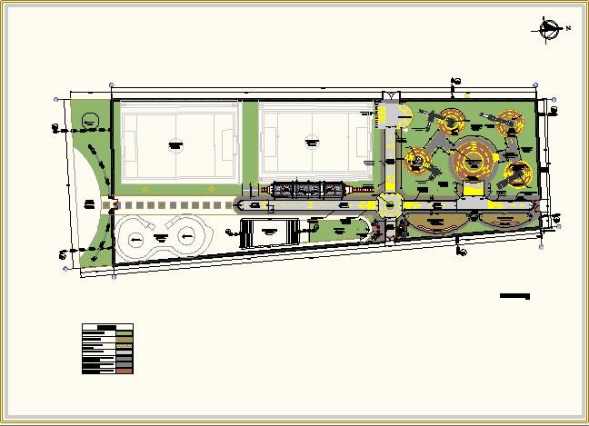 planos de parque tematico en proyectos u parques paseos y jardines