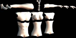 imagen Partes humanas en 3d, en 3d - Personas