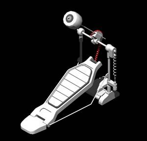 imagen Pedal de bombo pearl p-100, en Instrumentos musicales - Muebles equipamiento