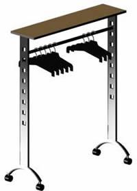 imagen Perchero 3d, en Dormitorios - Muebles equipamiento