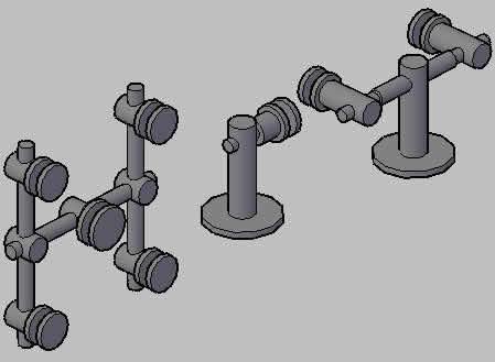 imagen Perfiles aranas 3d, en Herrajes cerraduras tornillos - Aberturas