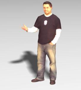 imagen Persona 3d, en 3d - Personas