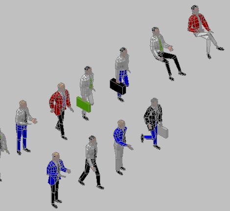 imagen Personas 3d, en 3d - Personas
