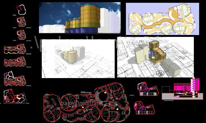imagen Pinball edificio plurifamiliar proteccion oficial, en Vivienda multifamiliar - condominios - Proyectos