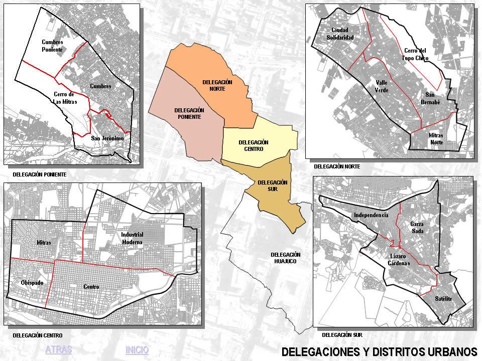imagen Plan de desarrollo urbano de monterrey; nuevo leon; mexico 2, en México - Diseño urbano