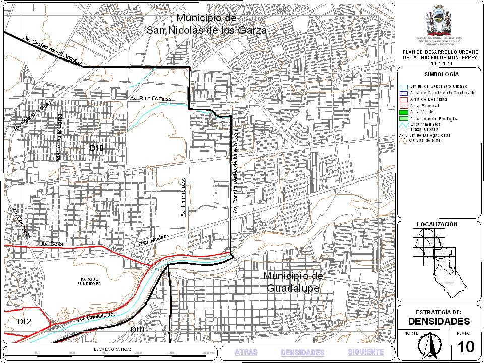 imagen Plan de desarrollo urbano de monterrey; nuevo leon; mexico 5, en México - Diseño urbano