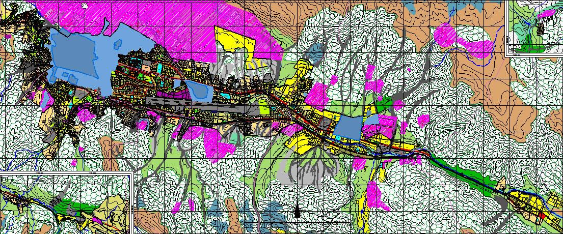 imagen Plano zonificación del uso del suelo. cuzco., en Mapas - Varios