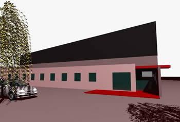 imagen Planta industrial, en Galpones - Proyectos