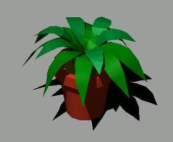 imagen Planta interior 3d, en Plantas de interior 3d - Arboles y plantas
